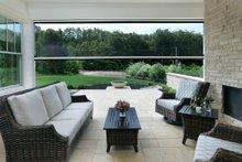 House Plan Design - Farmhouse Exterior - Outdoor Living Plan #928-309