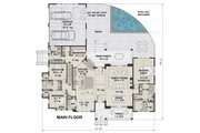 Farmhouse Style House Plan - 3 Beds 2.5 Baths 2287 Sq/Ft Plan #51-1137 Floor Plan - Main Floor Plan