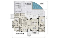 Farmhouse Floor Plan - Main Floor Plan Plan #51-1137