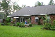 Dream House Plan - Southern Exterior - Rear Elevation Plan #21-126