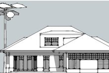 Beach Exterior - Other Elevation Plan #481-4