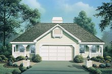 House Plan Design - Country Exterior - Front Elevation Plan #57-572