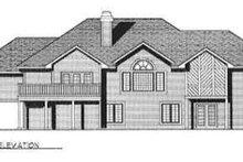 Ranch Exterior - Rear Elevation Plan #70-351