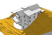 Modern Style House Plan - 4 Beds 4 Baths 2869 Sq/Ft Plan #902-3