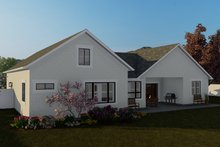 Architectural House Design - Traditional Exterior - Rear Elevation Plan #1060-59