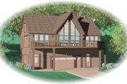 Modern Style House Plan - 2 Beds 2 Baths 2263 Sq/Ft Plan #81-746