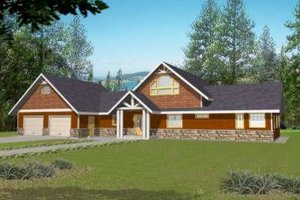 Traditional Exterior - Front Elevation Plan #117-462