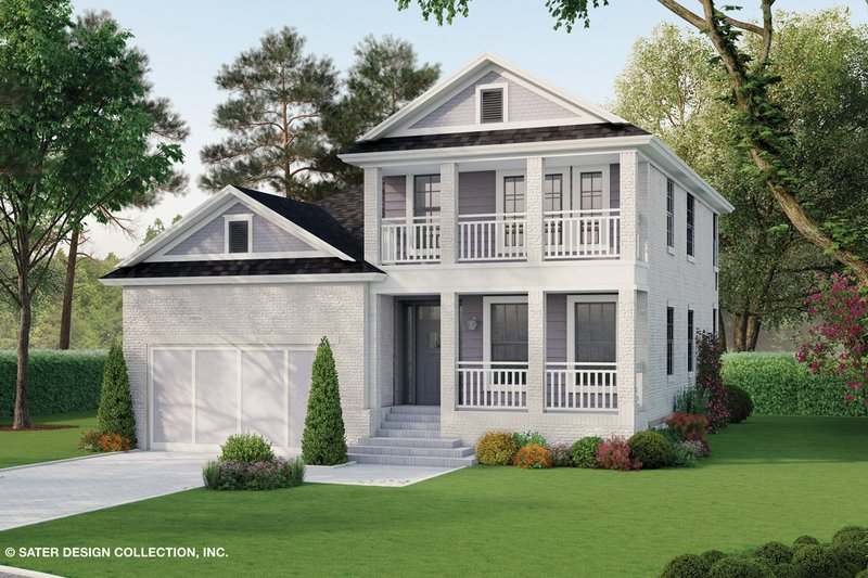 Home Plan - Traditional Exterior - Front Elevation Plan #930-498