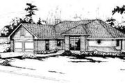 Traditional Style House Plan - 2 Beds 2 Baths 1828 Sq/Ft Plan #124-137