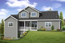Country Exterior - Front Elevation Plan #124-1060