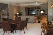 European Style House Plan - 3 Beds 3.5 Baths 4671 Sq/Ft Plan #437-51 Photo