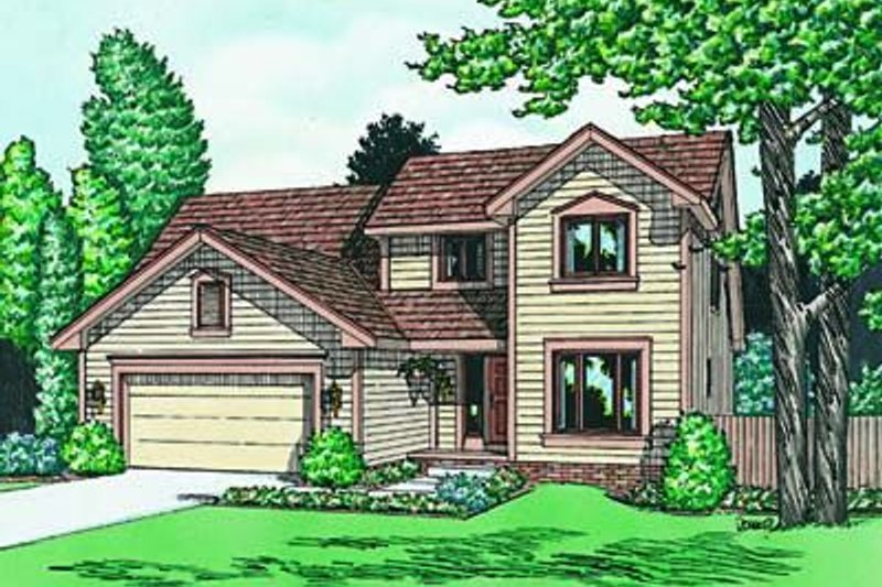 Traditional Exterior - Front Elevation Plan #20-651