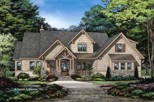 Craftsman Exterior - Front Elevation Plan #929-1051