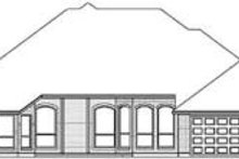 Traditional Exterior - Rear Elevation Plan #84-183