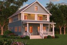 Craftsman Exterior - Front Elevation Plan #888-12