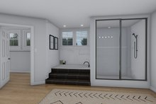 House Plan Design - Craftsman Interior - Master Bathroom Plan #1060-53