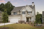 Traditional Style House Plan - 4 Beds 3.5 Baths 2709 Sq/Ft Plan #927-936 Photo