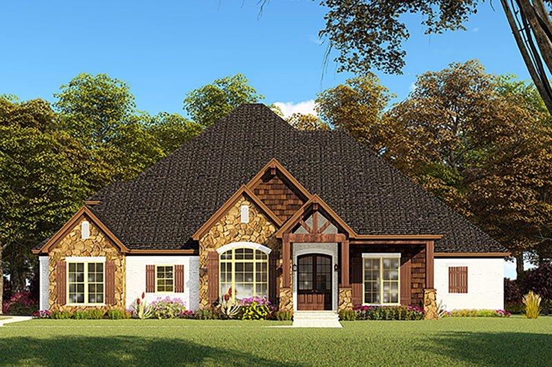 Home Plan - Craftsman Exterior - Front Elevation Plan #923-148