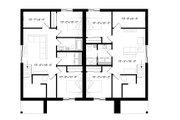Modern Style House Plan - 6 Beds 4 Baths 3580 Sq/Ft Plan #23-2673 Floor Plan - Lower Floor Plan