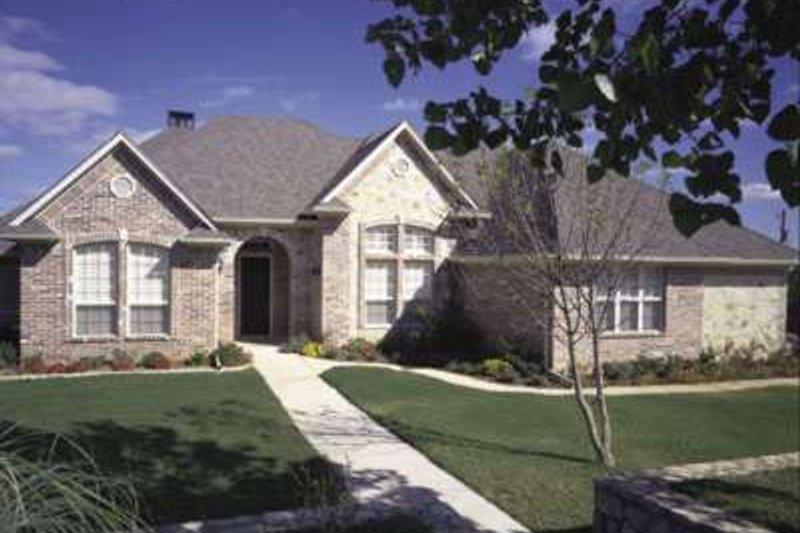 Architectural House Design - European Exterior - Front Elevation Plan #410-124