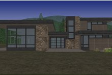 Architectural House Design - Modern Exterior - Front Elevation Plan #892-32