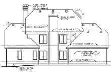 Dream House Plan - Southern Exterior - Rear Elevation Plan #20-1007