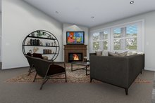 House Plan Design - Traditional Interior - Family Room Plan #1060-45