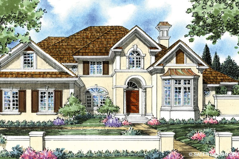 House Plan Design - Traditional Exterior - Front Elevation Plan #930-268