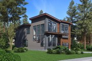 Contemporary Style House Plan - 4 Beds 2.5 Baths 2702 Sq/Ft Plan #1066-81 Exterior - Other Elevation