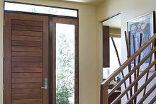 Home Plan - Entry - 1900 square foot Modern Home