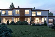 Contemporary Exterior - Rear Elevation Plan #1066-28