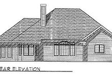 Traditional Exterior - Rear Elevation Plan #70-291