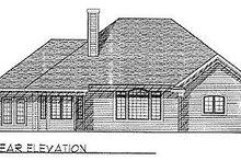 Traditional Exterior - Rear Elevation Plan #70-291