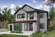 Craftsman Style House Plan - 4 Beds 3 Baths 2038 Sq/Ft Plan #23-2659