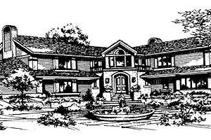 Traditional Exterior - Front Elevation Plan #320-122
