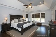 Craftsman Style House Plan - 4 Beds 3 Baths 2533 Sq/Ft Plan #929-24 Interior - Master Bedroom