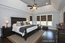 House Plan Design - Craftsman Interior - Master Bedroom Plan #929-24
