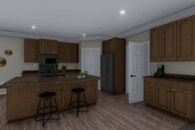 Dream House Plan - Traditional Interior - Kitchen Plan #1060-60