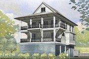 Beach Style House Plan - 4 Beds 2.5 Baths 2593 Sq/Ft Plan #901-118