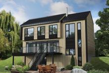 House Plan Design - Cottage Exterior - Front Elevation Plan #25-4934