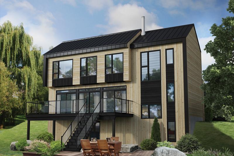 Architectural House Design - Cottage Exterior - Front Elevation Plan #25-4934