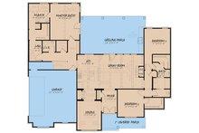 Farmhouse Floor Plan - Main Floor Plan Plan #923-155