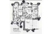 Colonial Style House Plan - 4 Beds 3.5 Baths 2889 Sq/Ft Plan #310-881 Floor Plan - Main Floor