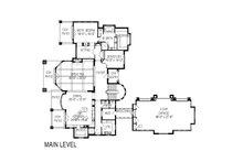 European Floor Plan - Main Floor Plan Plan #920-62