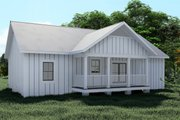 Cottage Style House Plan - 3 Beds 2 Baths 1425 Sq/Ft Plan #44-246