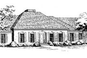 Traditional Style House Plan - 3 Beds 2.5 Baths 2400 Sq/Ft Plan #10-151 Exterior - Front Elevation