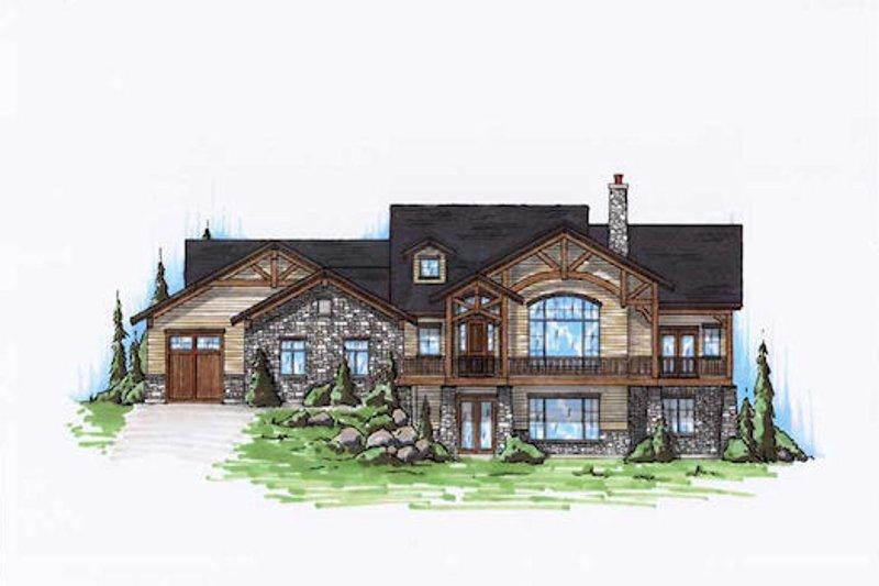 Craftsman Exterior - Front Elevation Plan #5-277