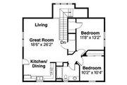 Craftsman Style House Plan - 5 Beds 3 Baths 2288 Sq/Ft Plan #124-803