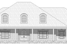Dream House Plan - Country Exterior - Front Elevation Plan #932-320