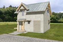 Cottage Exterior - Front Elevation Plan #497-62